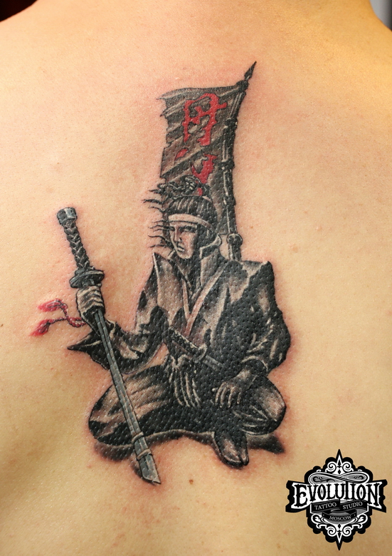 Samurai-tattoo