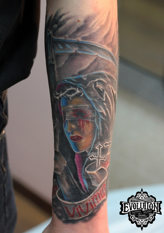 Tattoo-death-woman