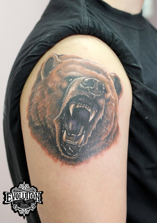 Tattoo-medved