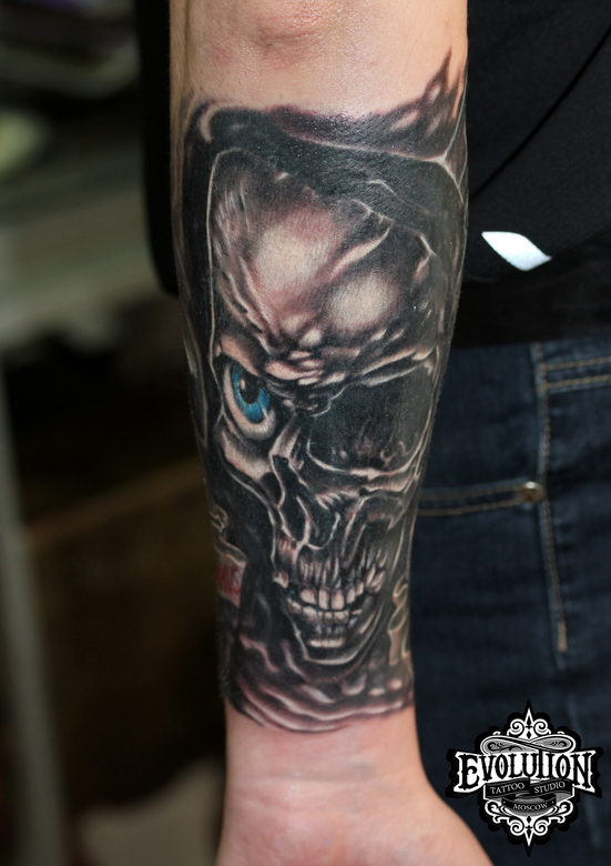 Tattoo-one-eye-skull