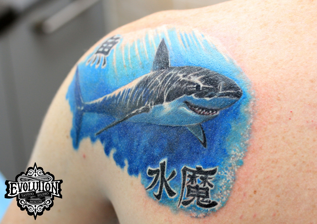 Tattoo-shark
