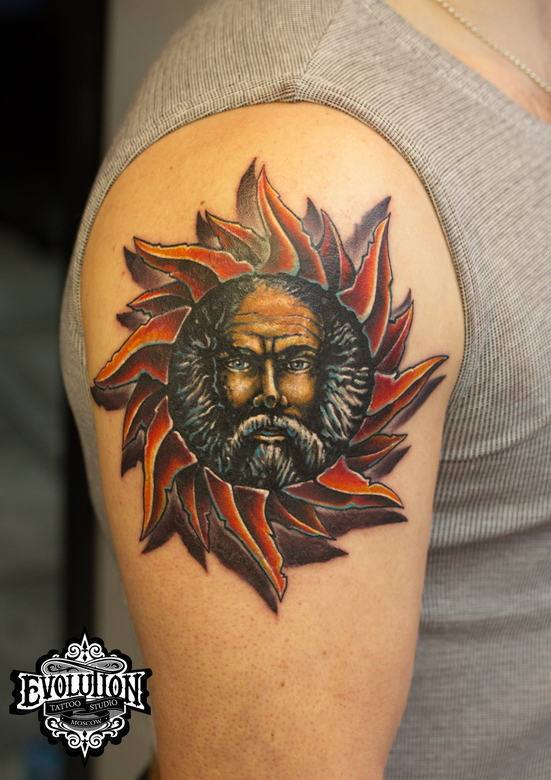 Tattoo-sunman