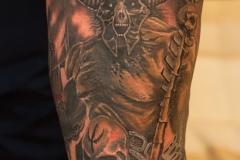 Demonic-warrior-tattoo