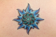 Star-tattoo-flower