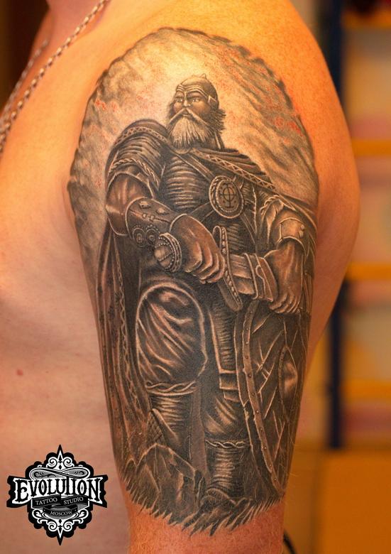 Bogatyrr-tattoo