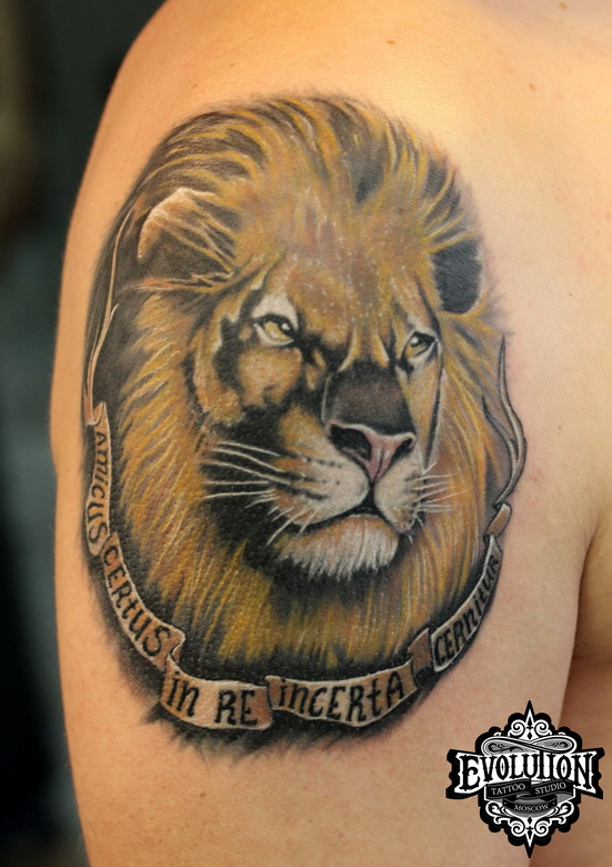 Lion-tattooos