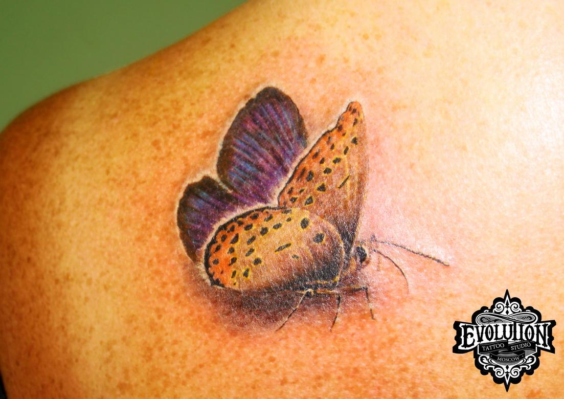 Tattoo-butterfly