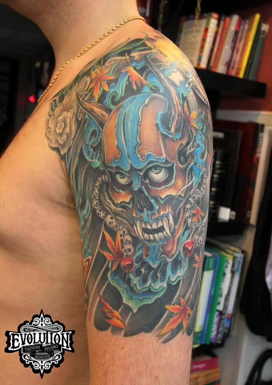 Tattoo-iredsumi-mask