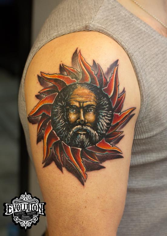 Tattoo-sunman