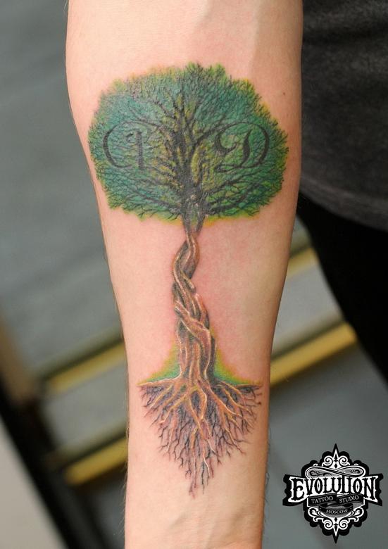 Tattoo-woood