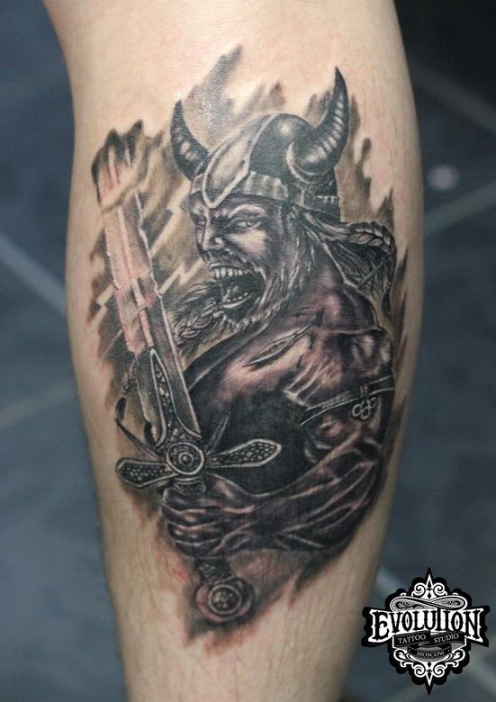 Warior-tattooo