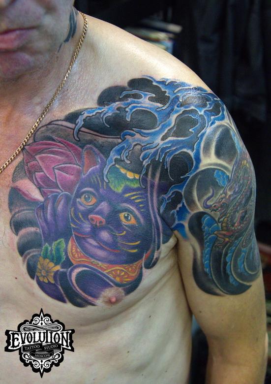 japan-cat-tattoo