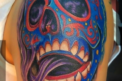 Maska-meksika-tatu