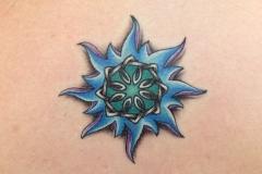 Star-tattoo-flower