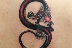 Tattoo-redblack-dragon