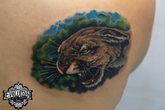 Tattoo-wild-cat